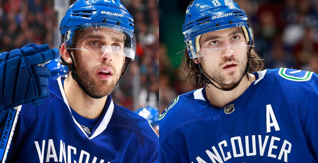 Canucks looking to trade pair of veterans to clear space for another UFA