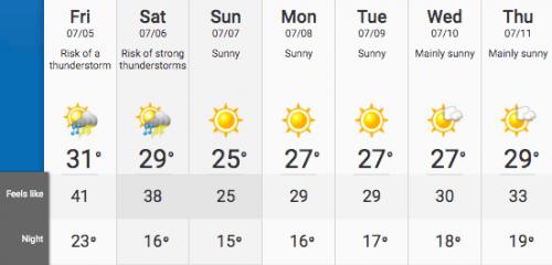 heat Montreal