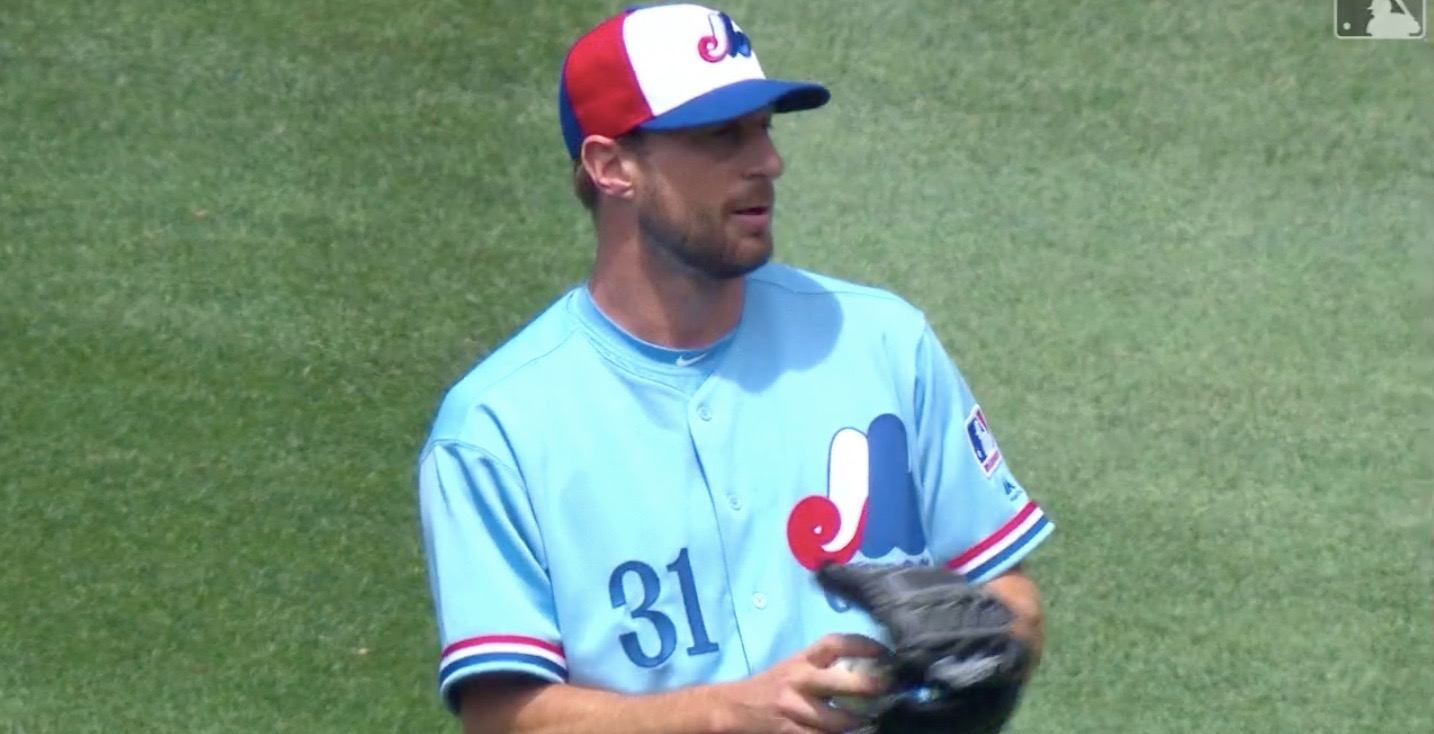MLB star wearing throwback Expos uniform will give you all the feels (VIDEO)