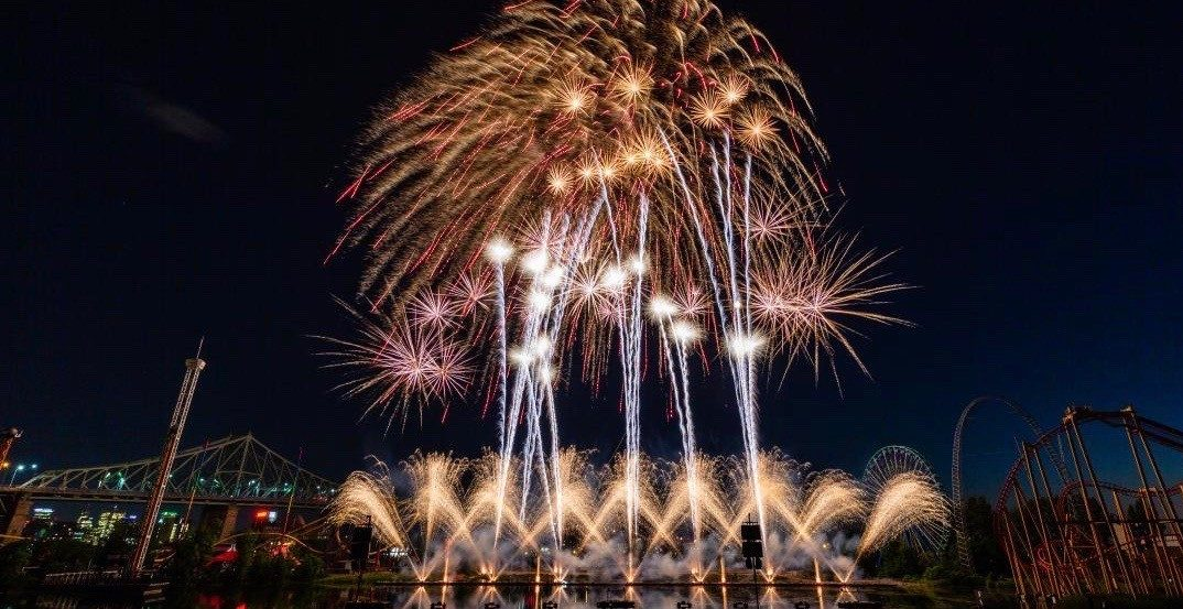 Last night's firework show in Montreal was absolutely magical (PHOTOS)