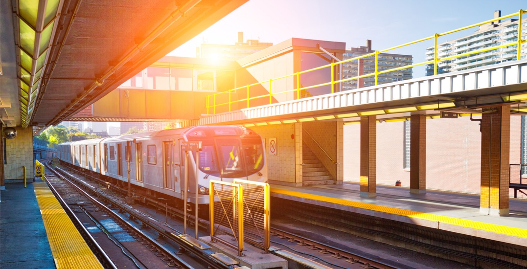 There will be a partial closure on the TTC this weekend