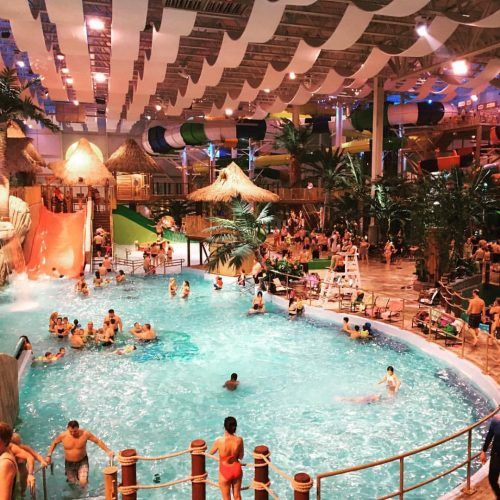 Montreal water parks