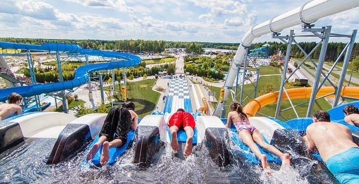 9 wild water parks you need to day trip to from Montreal this summer
