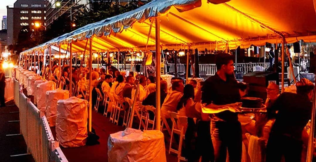St. Lawrence Market will be home to a dinner under the stars tomorrow