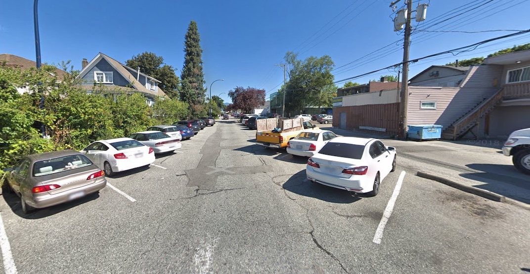 260 free parking spots in Fraser Street's South Hill retail area could turn into paid metered