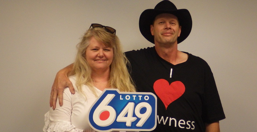 $14.9 million LOTTO 6/49 jackpot won by Sundre couple