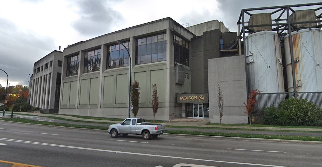 Vancouver's enormous Molson Coors brewery up for lease