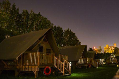 Montreal camping