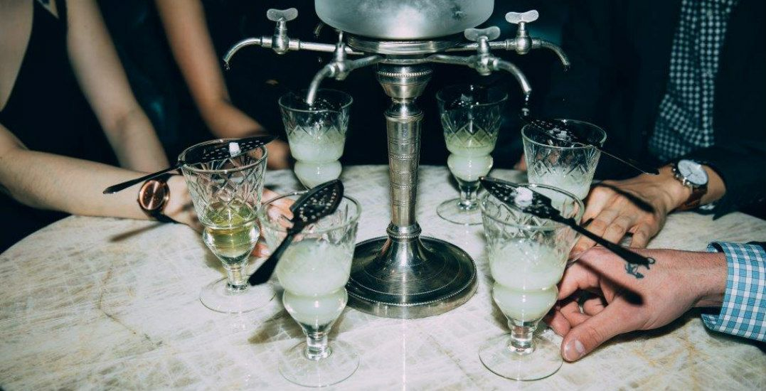 You can experience an authentic absinthe service at Prohibition