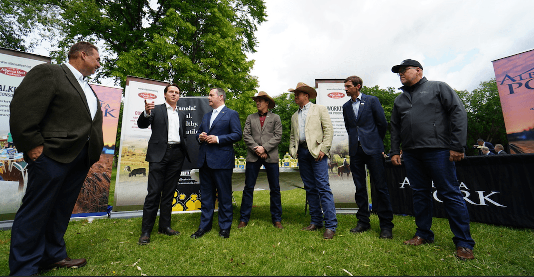 Ministers calling on Albertans to support province's farmers