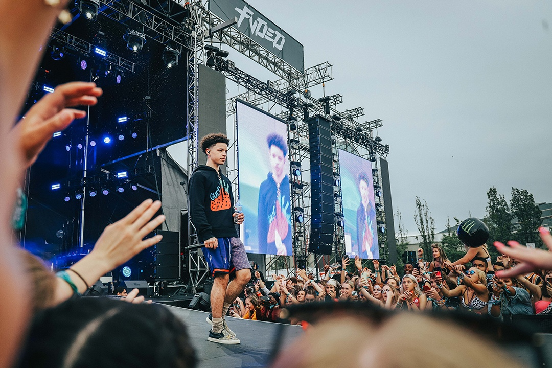 Lil Mosey FVDED IN THE PARK 2019
