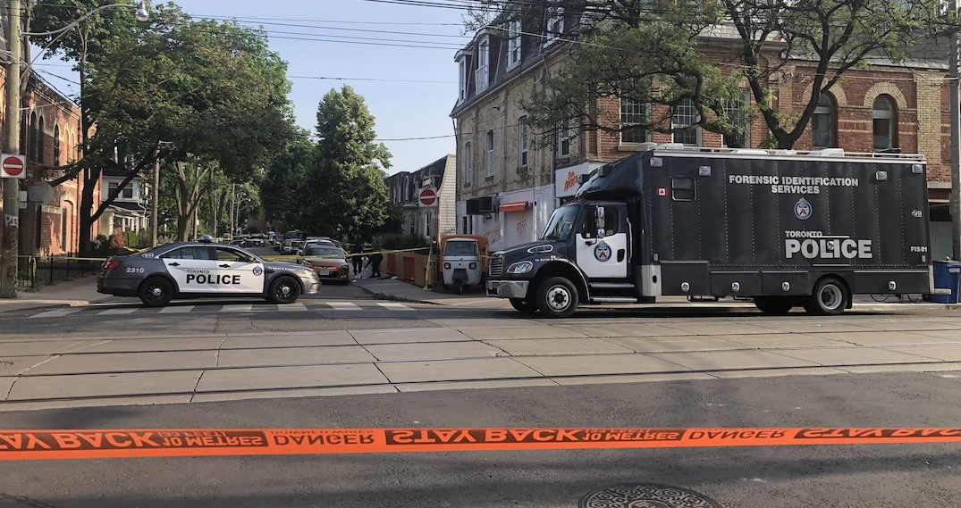 3 men seriously injured following shooting at Queen and Ossington