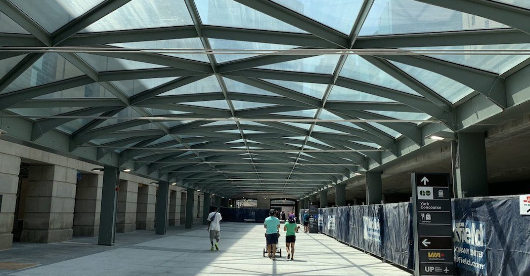 This is what Union Station's new glass-covered walkway looks like (PHOTOS)