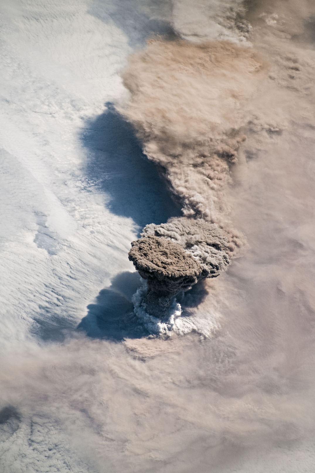 raikoke volcano