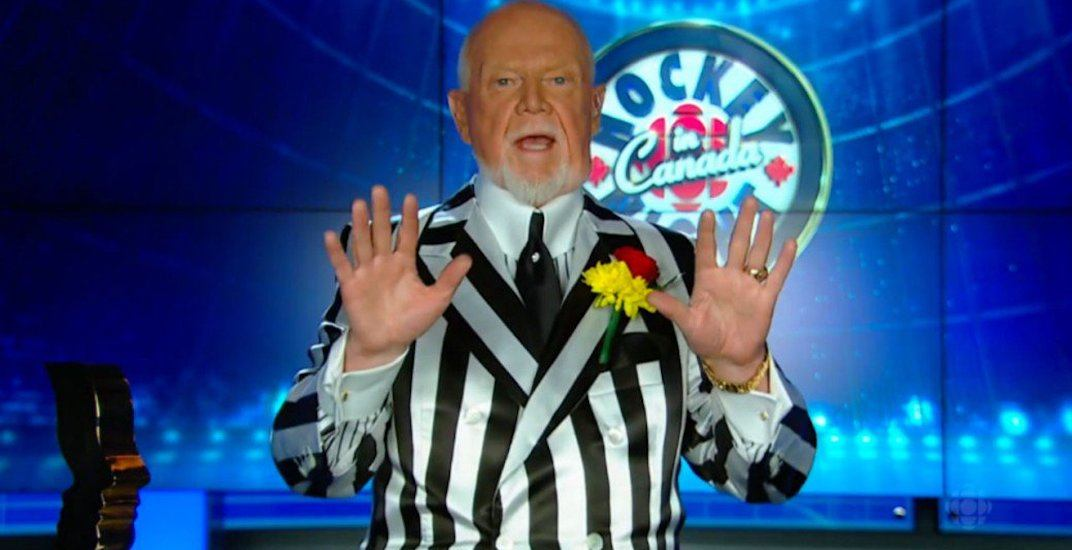 Don Cherry launches new podcast explaining his side of the story