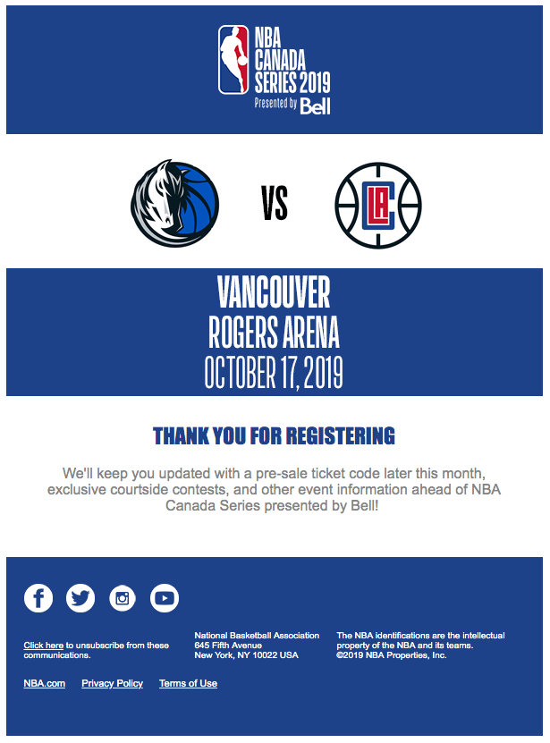 clippers mavericks vancouver