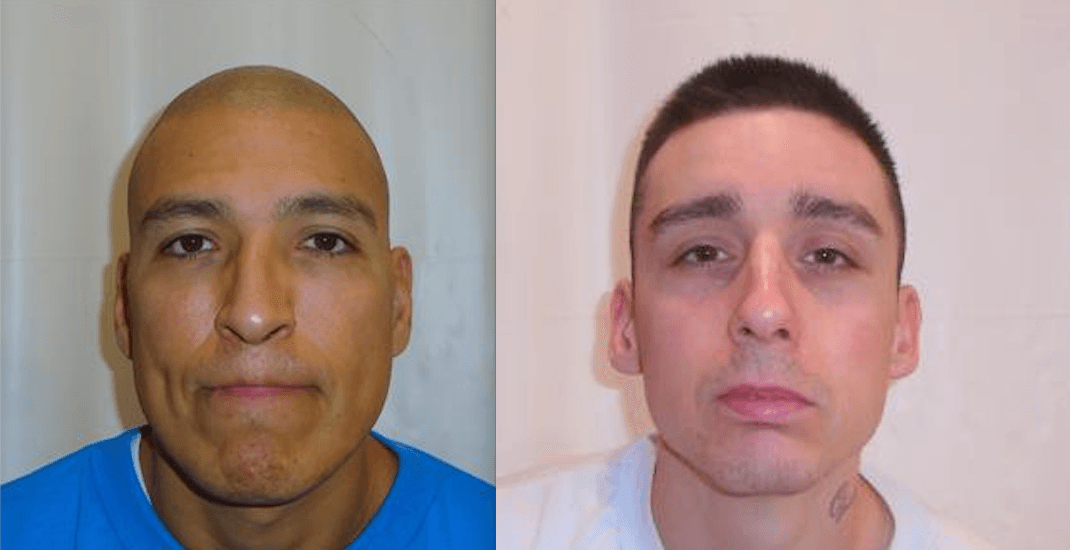 Convicted killer and robber escape from BC prison: RCMP