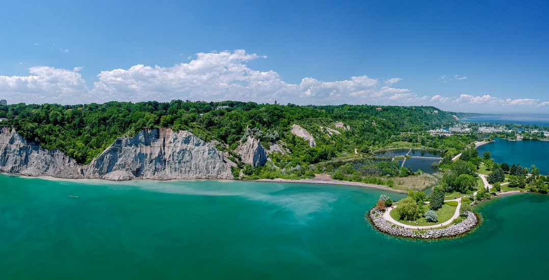 Trespassing at the Scarborough Bluffs is both dangerous and expensive