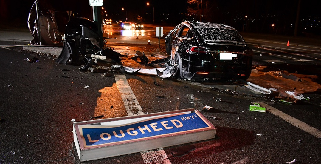 Driver killed in Tesla crash was 3 times over legal limit for alcohol: RCMP
