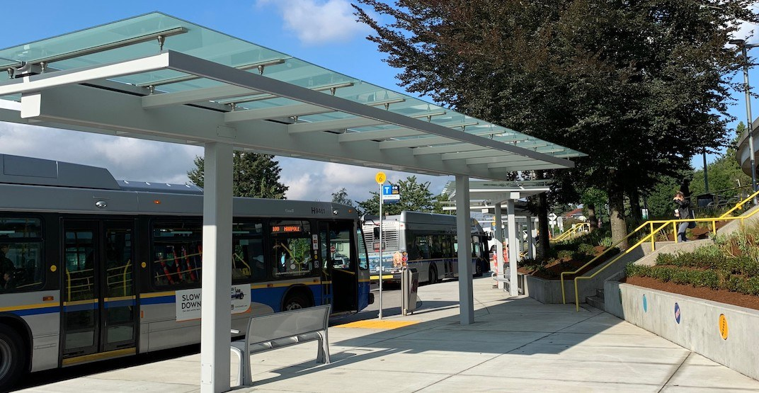 TransLink completes renovation of SkyTrain's 22nd Street Station bus loop