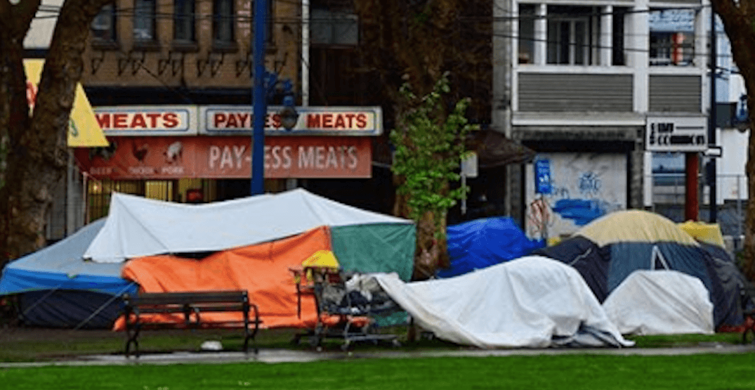 Downtown Vancouver residents petition against Oppenheimer Park relocation