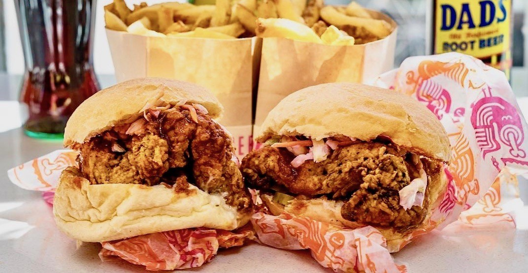 Cluck 'N' Cleaver is having a cheap chicken sandwich deal Monday