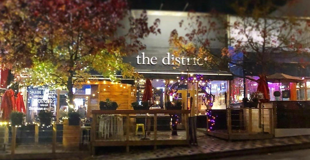 'The District Brasserie' has closed its doors in North Vancouver