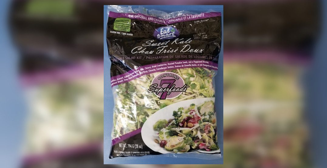 Pre-mixed kale salad recalled due to possible Listeria contamination