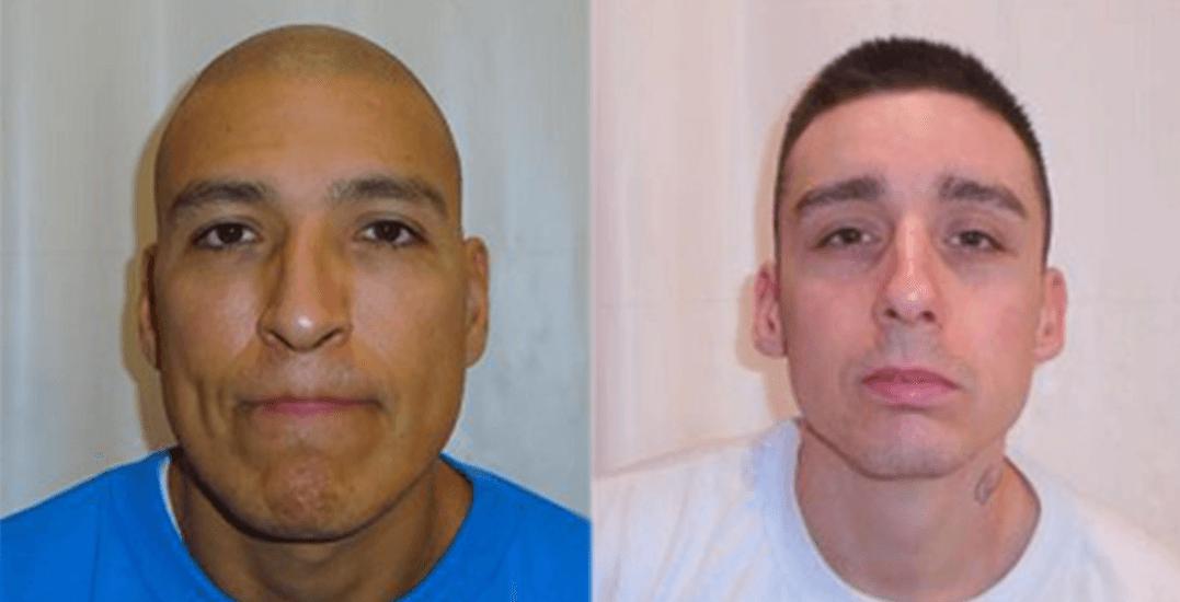 Fugitive murderer and robber recaptured after breaking out of BC prison