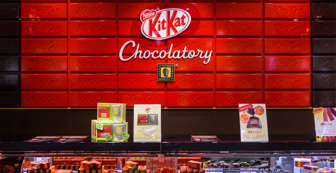 "KitKat's first Canadian ""Chocolatory"" announces its Toronto opening date"