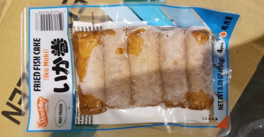 Frozen fish cakes recalled due to undeclared allergens