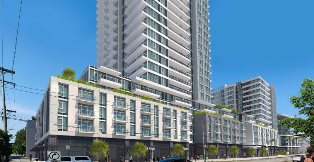 Hotel and 427 rental homes proposed for corner of 41st Avenue and Cambie
