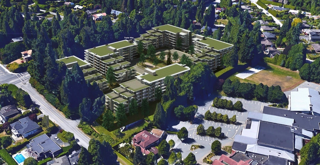 New housing complex with rentals proposed for West Vancouver
