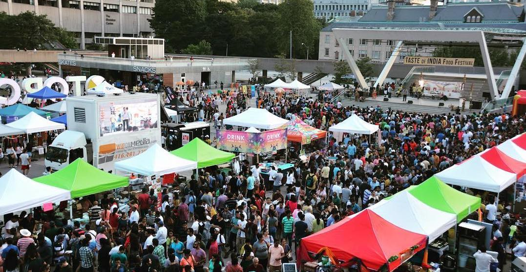 Taste of India Food Festival is coming to Toronto this long weekend
