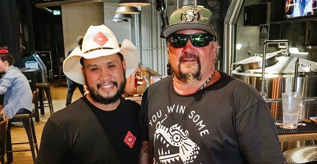 Guy Fieri stopped at 'Trolley 5' while he was in Calgary