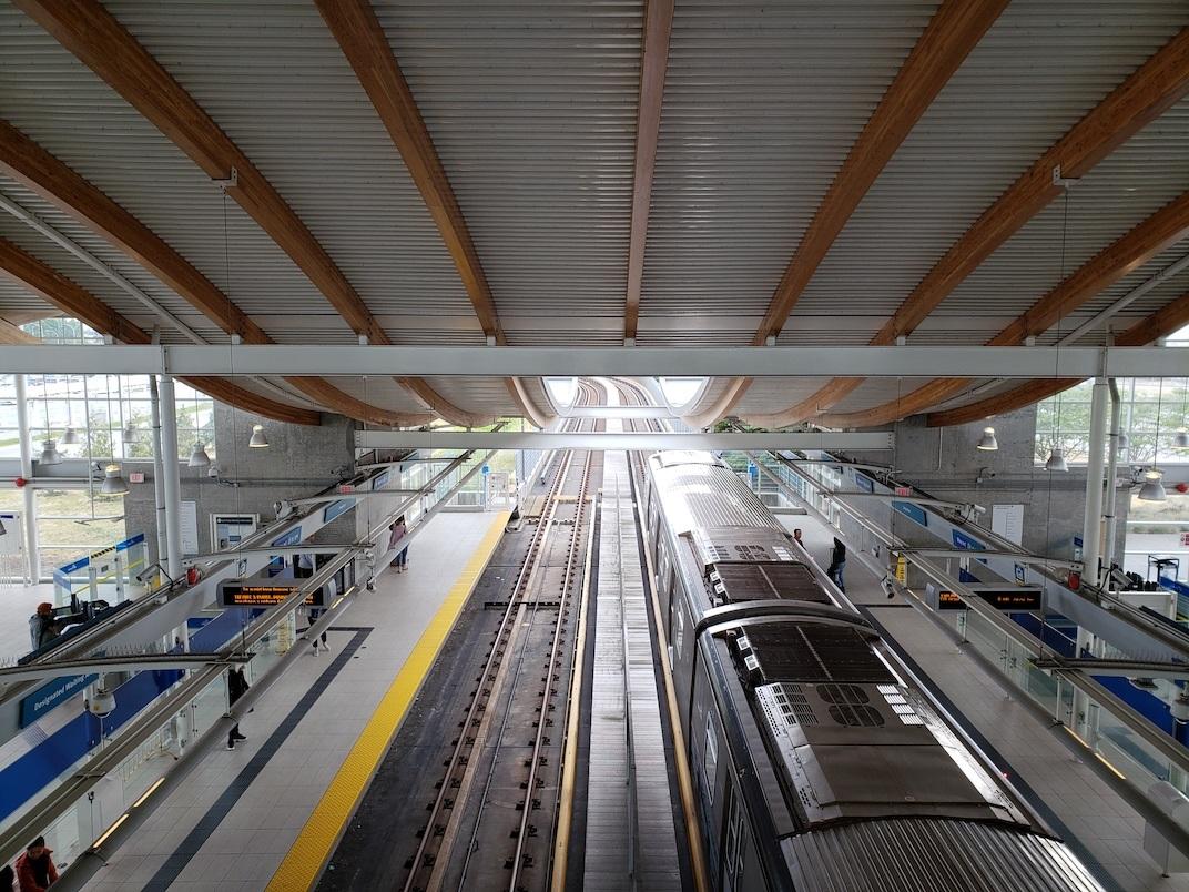 SkyTrain Canada Line Templeton Station