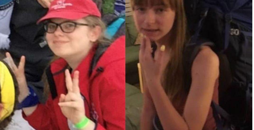 Missing teen girls in Algonquin Park have been found safe