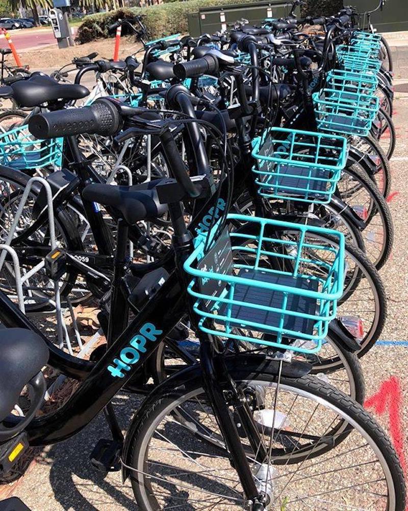 HOPR Bike Share. (HOPR)