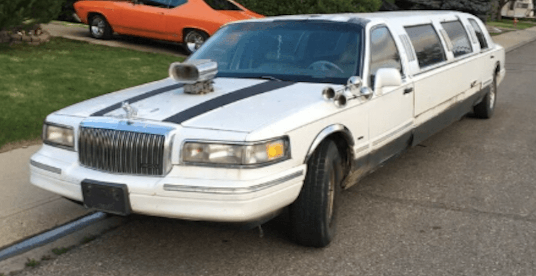 You could be the proud new owner of this stretch limo in BC (PHOTOS)