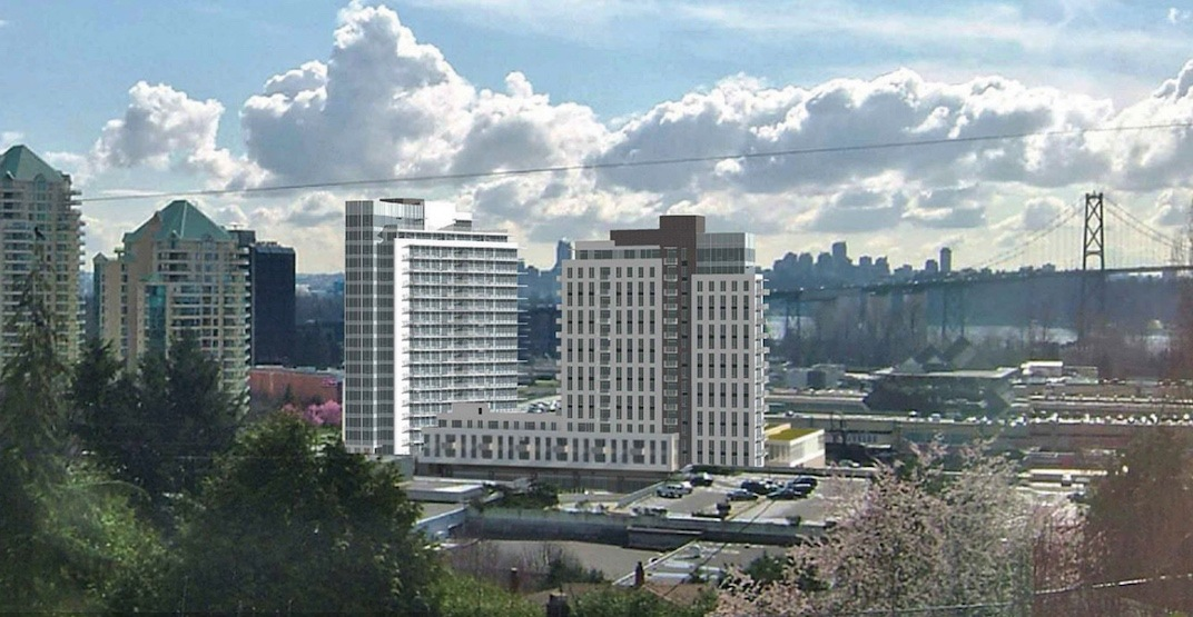 Taller towers for rental homes proposed for under-construction Park Royal redevelopment