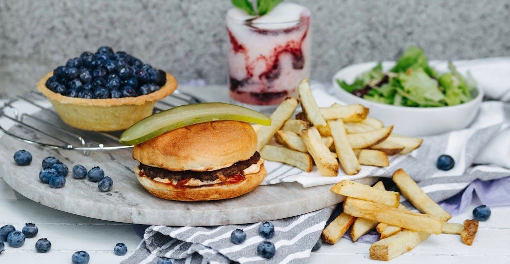 White Spot launches popular BC blueberry menu for a limited time