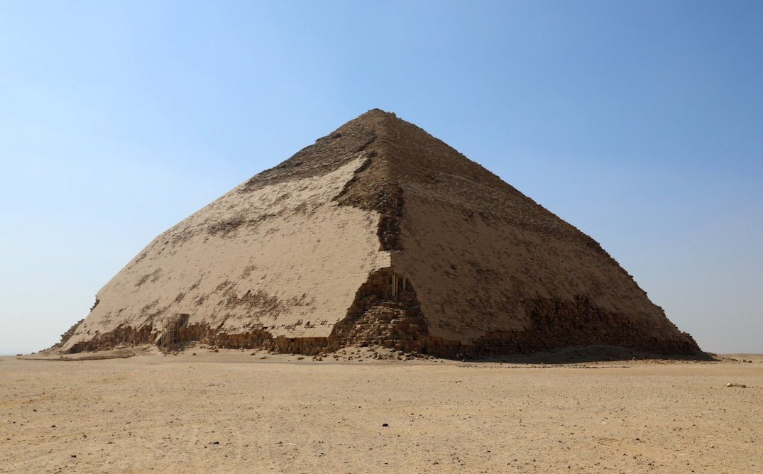 Egypt opens 4,600 year old 'bent' pyramid to tourists