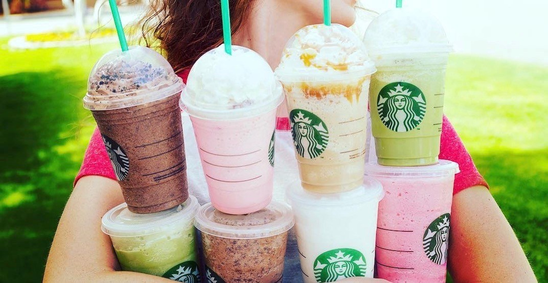 Starbucks is offering buy-one-get-one FREE Frappuccinos on July 18