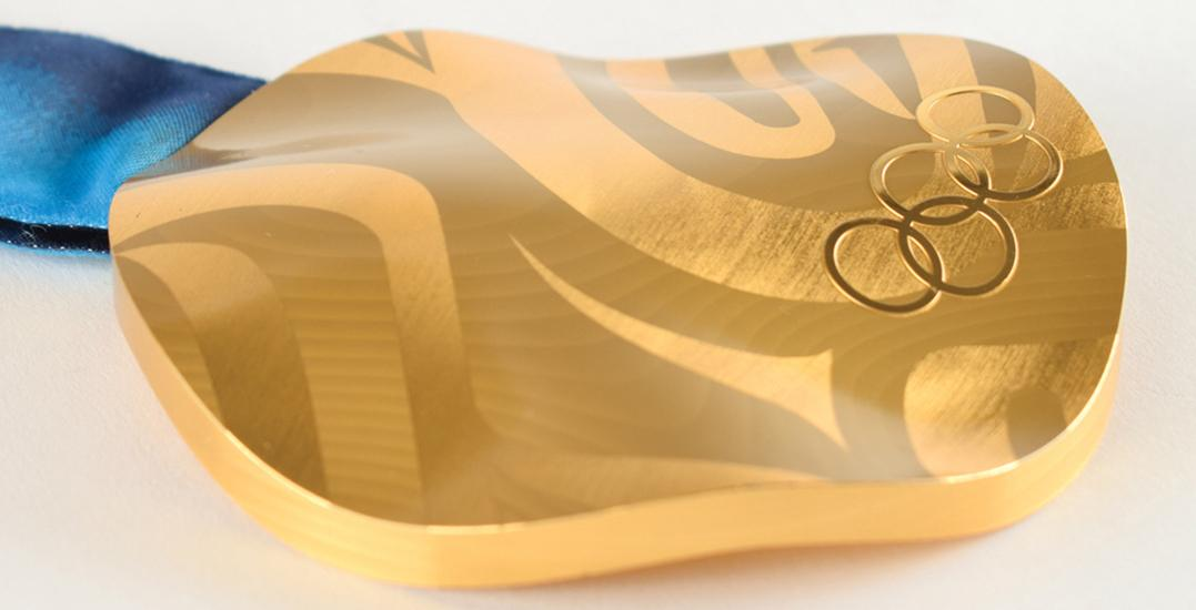 2010 Vancouver Olympic gold medal sells for nearly $90K at auction