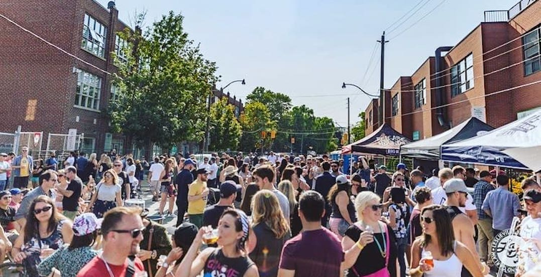 Leslieville is throwing a beer-fuelled block party on August 24