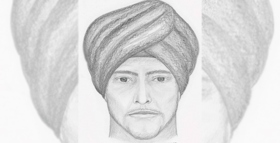 Police release sketch of alleged assault suspect on Burnaby Mountain (PHOTOS)