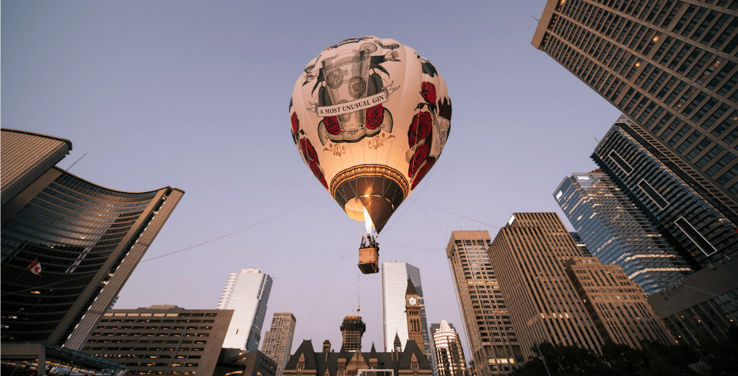 Win 2 tickets to ride in the Hendrick's Gin hot air balloon (CONTEST)