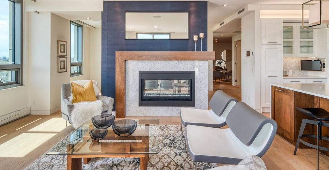 A look inside: Riverfront condo selling for $3.7 million in Calgary (PHOTOS)
