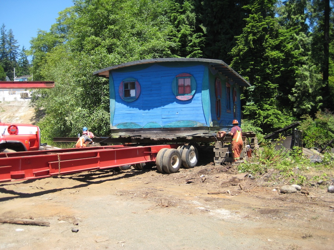 Blue Cabin Artist Residency Vancouver grunt gallery