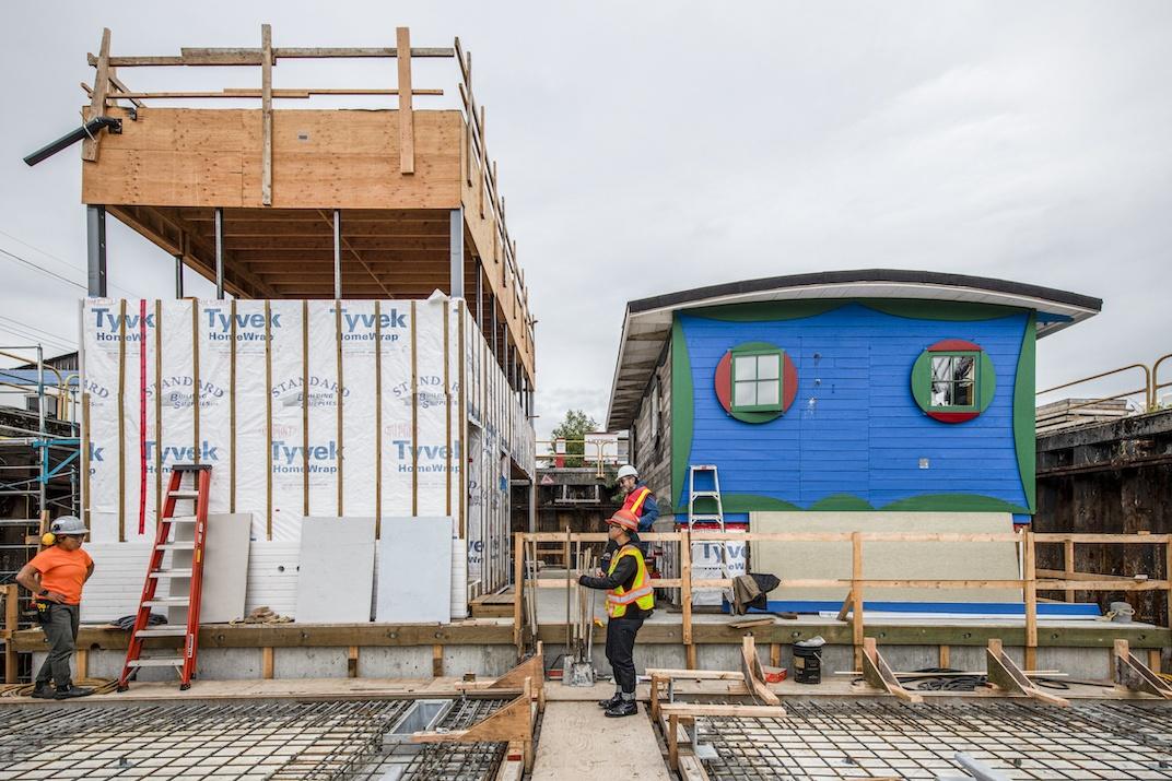 Blue Cabin Artist Residency Vancouver grunt gallery
